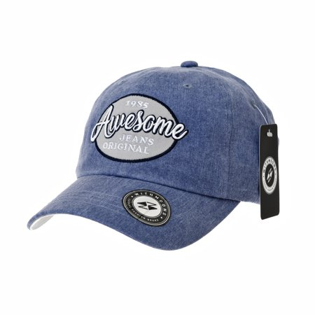 0807169464e WITHMOONS Baseball Cap Patch Simple Plain Ball Cap For Men Women Awesome  Lettering Cotton Hat CR1920 (Pink) - Walmart.com