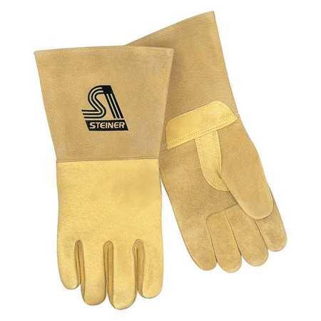 STEINER Welding Gloves,MIG,Gunn,L,PR P750-L