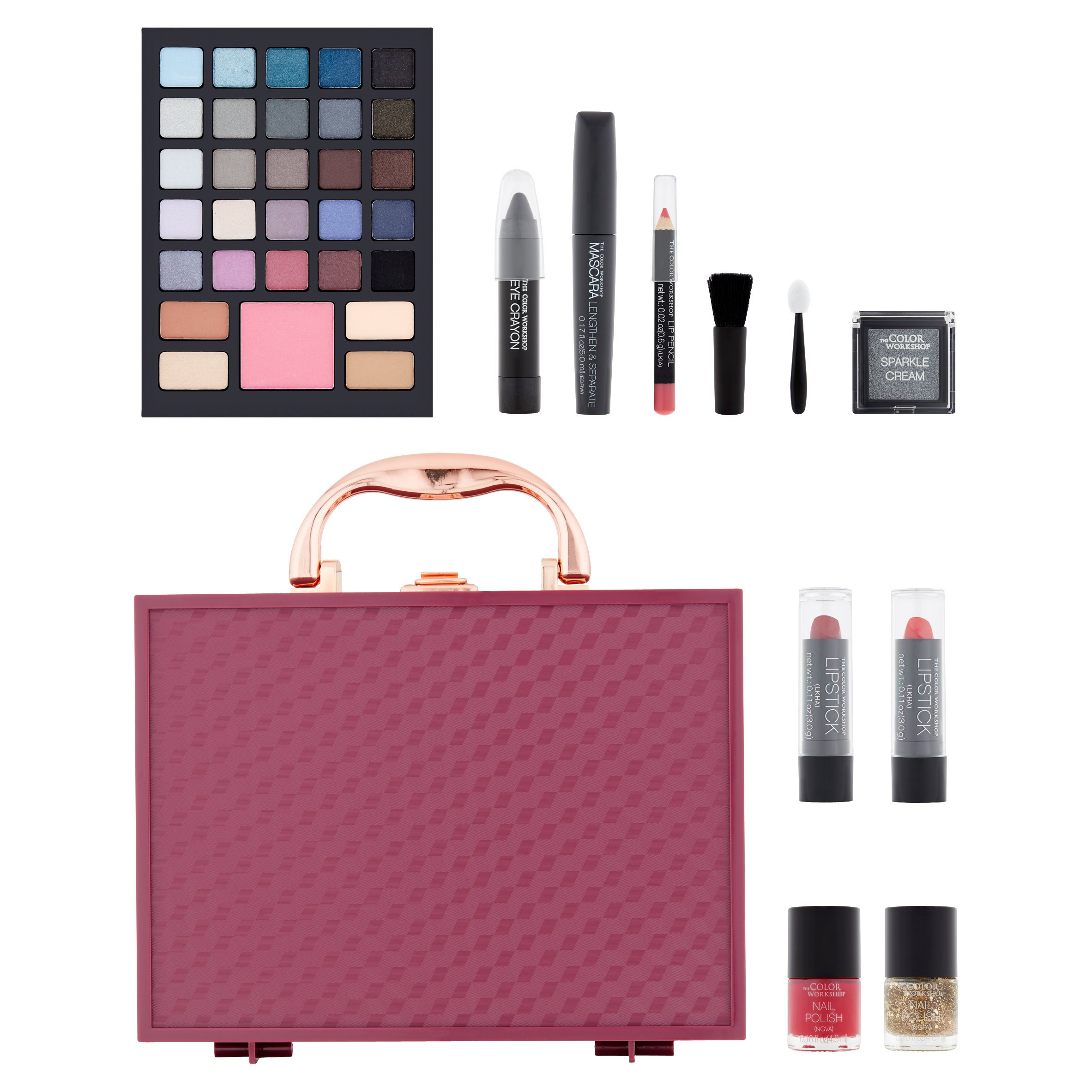 The Color Workshop Brilliant Beauty Classic Glamour Collection, 41 ...