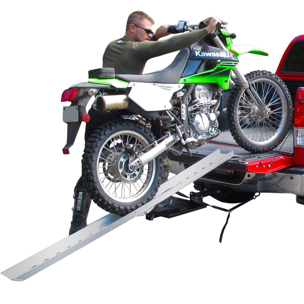 "82"" Portable Aluminum Folding Off-Road Motocross Loading Ramp"
