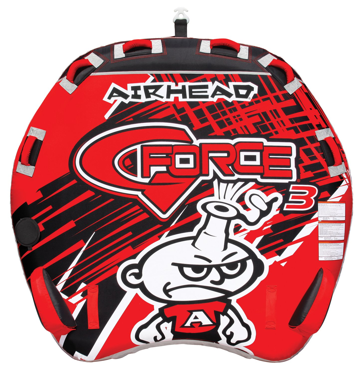 Airhead AHGF-3 G-Force 3 Triple Rider Inflatable Towable ...