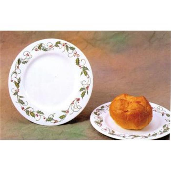 Bulk Buys 7. 5 inch Melamine Salad-Dessert Plate  Garland Design - Case of 24