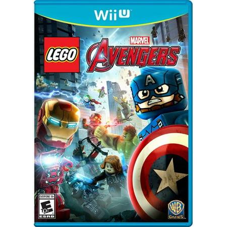 LEGO Marvel Avengers for Nintendo Wii U Warner - Black Widow Avengers Wig