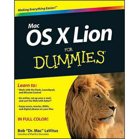 Mac OS X Lion for Dummies