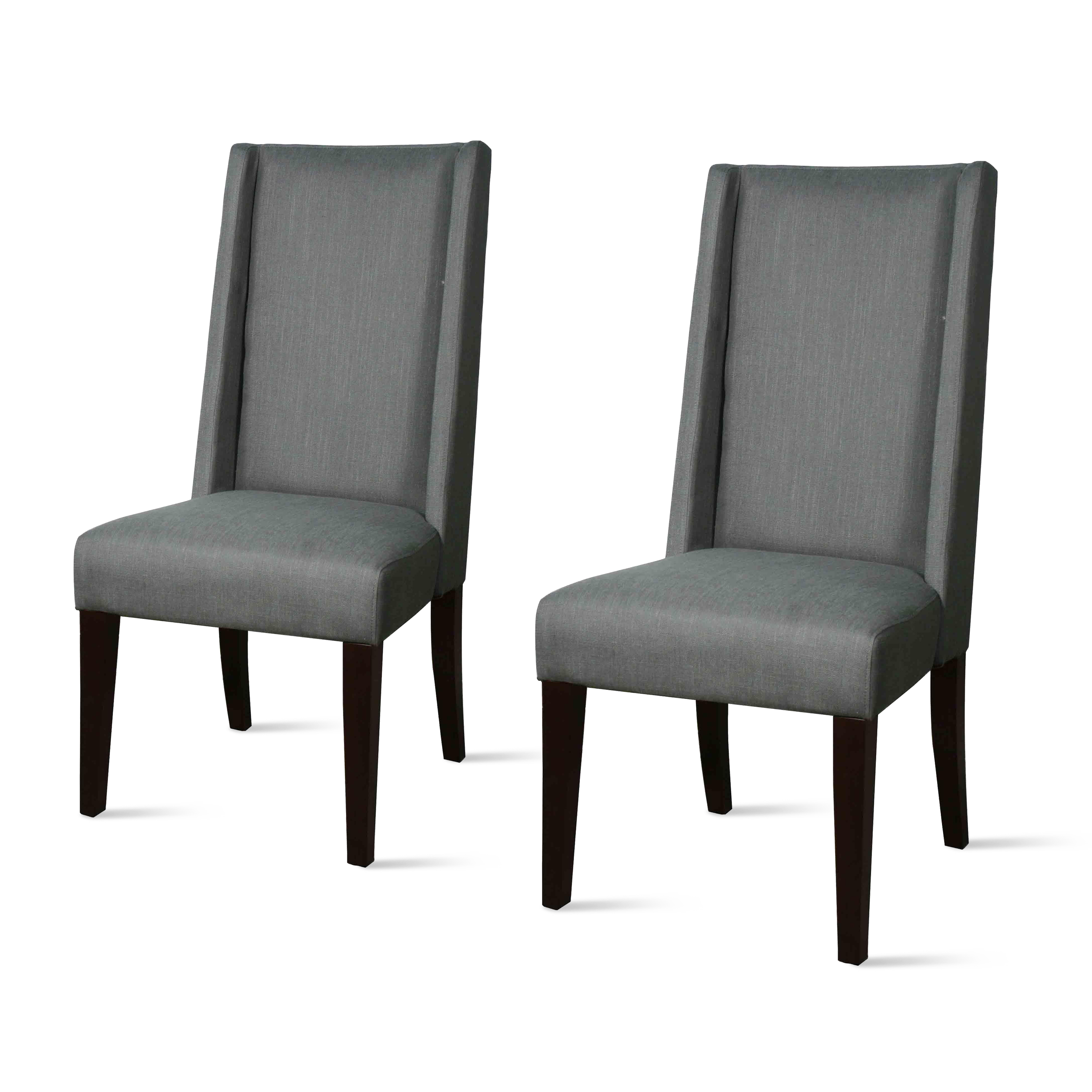Charmant Lucas Tall Back Dining Chair (Set Of 2), Multiple Colors