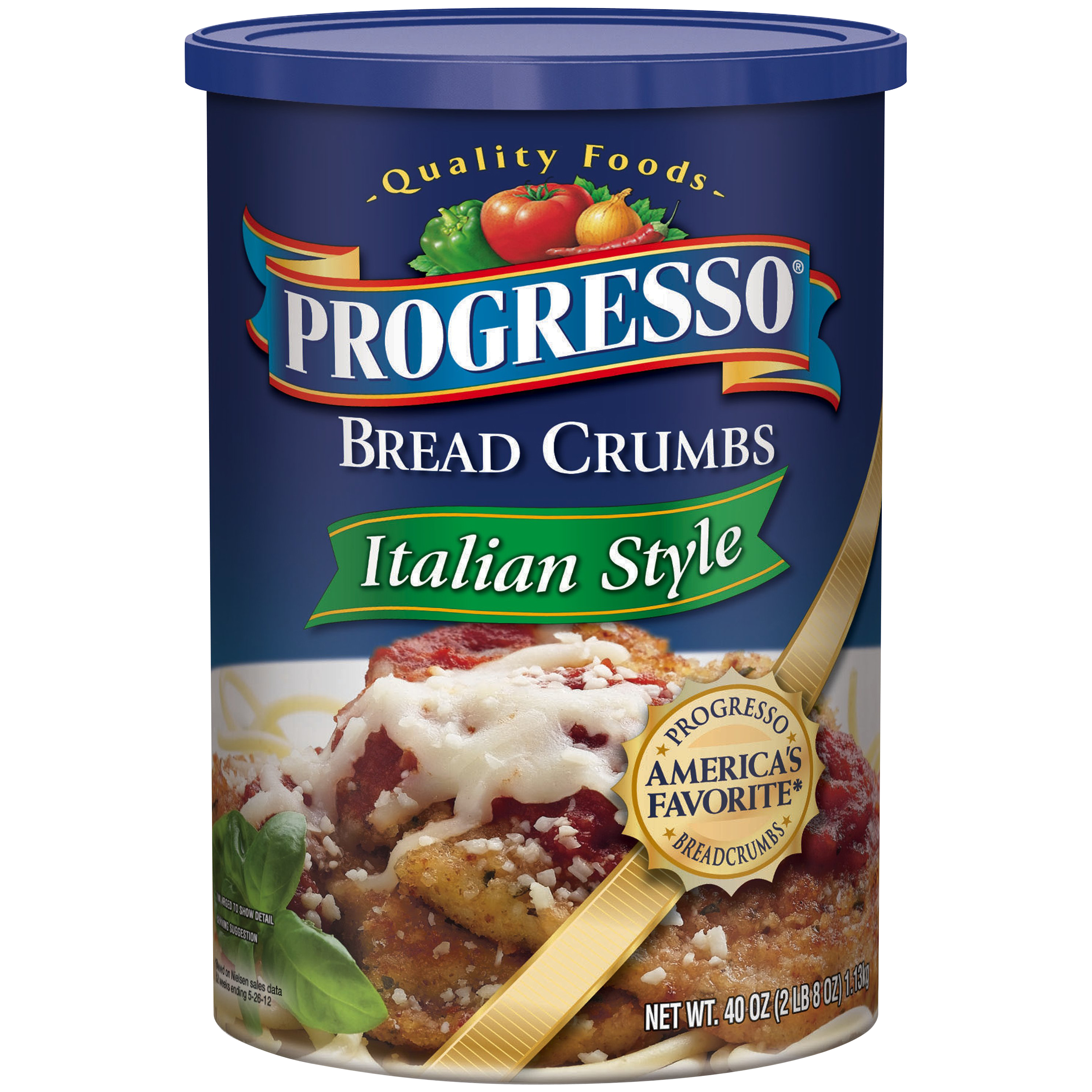 Progresso® Italian Style Bread Crumbs 40 oz. Canister