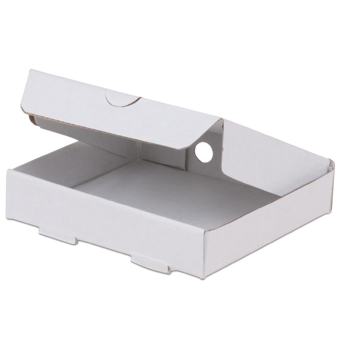 "JB Prince Mini Pizza Box 3.5""x 3.5"" 100 Pack"