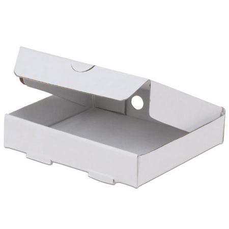 JB Prince Corrugated Mini Pizza Box - 3.5-in Square 100 Pack - Mini Pizza Boxes