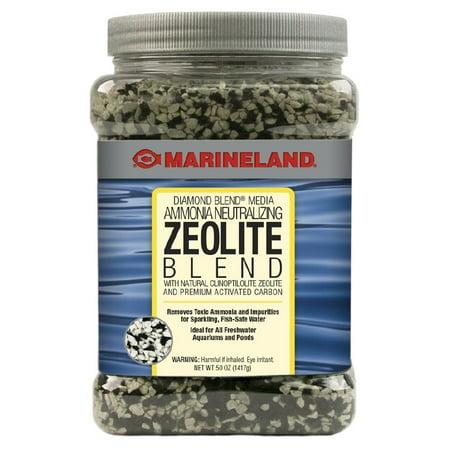 Marineland Diamond Blend Activated Carbon/Ammonia Crystals, 50 oz Black Diamond Activated Carbon