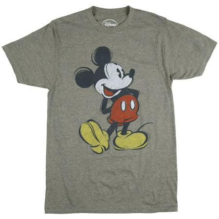 Disney Mickey Mouse Vintage Shirt Cartoon Walt Heather Olive](Walt Disney World Halloween Shirts)
