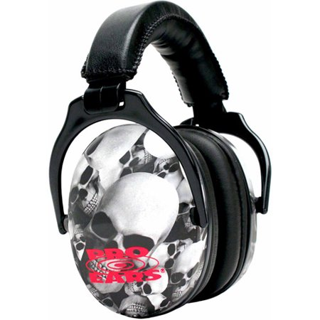Pro Ears Standard Hearing Protection Ultra Sleek, NRR 26, Skulls