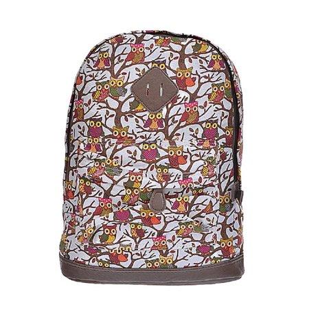 Designer Owls on Branches Backpack - Discount On Backpacks