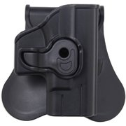 Bulldog Cases Polymer Holster with Paddle/Belt Loop