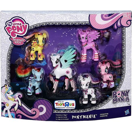 My Little Pony Ponymania Collection Figure 6-Pack - My Little Pony Hasbro
