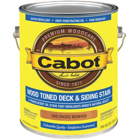 - Cabot Alkyd/Oil Base Wood Toned Deck & Siding Stain