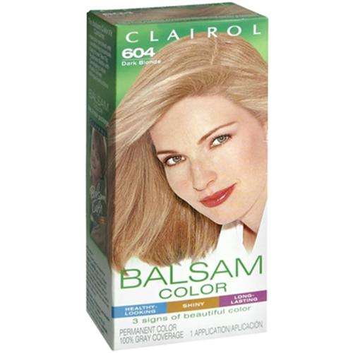 Balsam Permanent Color - 604 Dark Blonde 1 Each (Pack of 6)