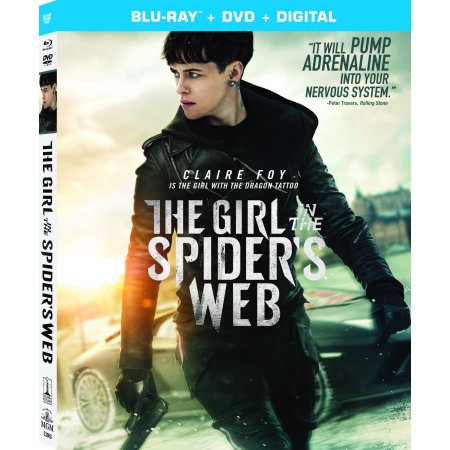 The Girl in the Spider's Web: A New Dragon Tattoo Story (Blu-ray + DVD + Digital (Best Spider Web Tattoos)