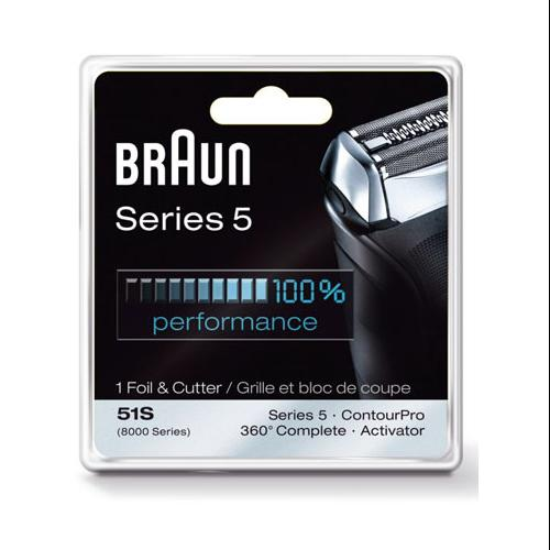 Braun 8000FC/51S Braun Replacement Foil and Cutter Pack 8000FC / 51S