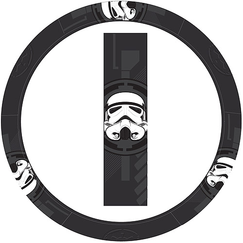 Plasticolor Steering Wheel Cover Speed Grip, Star Wars Stormtrooper