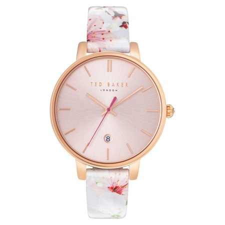 535506b1c Ted Baker - Ted Baker 10031541 White Pink Floral 38mm Kate Women s ...