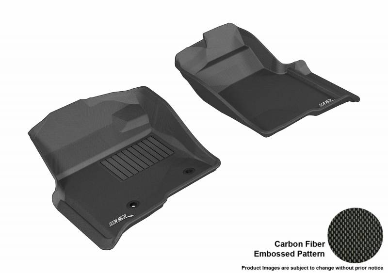 3d maxpider 2009 2014 ford f 150 regular supercab supercrew kagu 1st row black carbon fiber. Black Bedroom Furniture Sets. Home Design Ideas