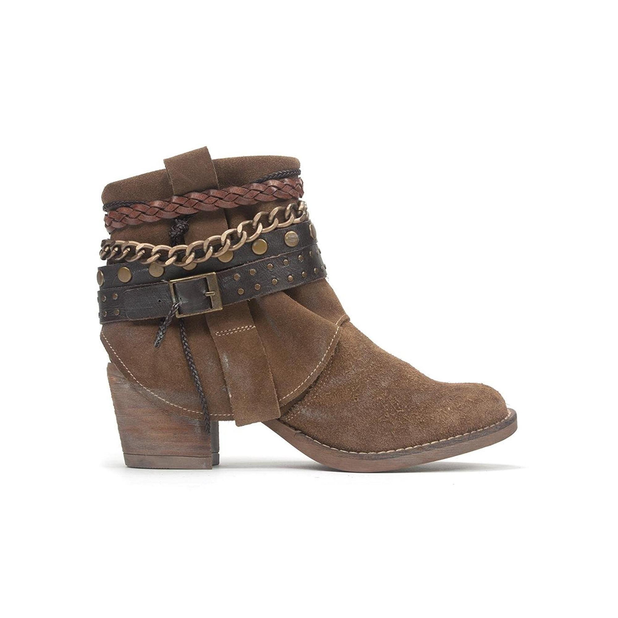 420369130b223 Chocolat Blu Womens Veronica Leather Closed Toe Ankle | Walmart Canada