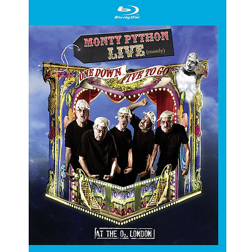 MONTY PYTHON-LIVE (MOSTLY)-ONE DOWN FIVE TO GO (BLU-RAY)