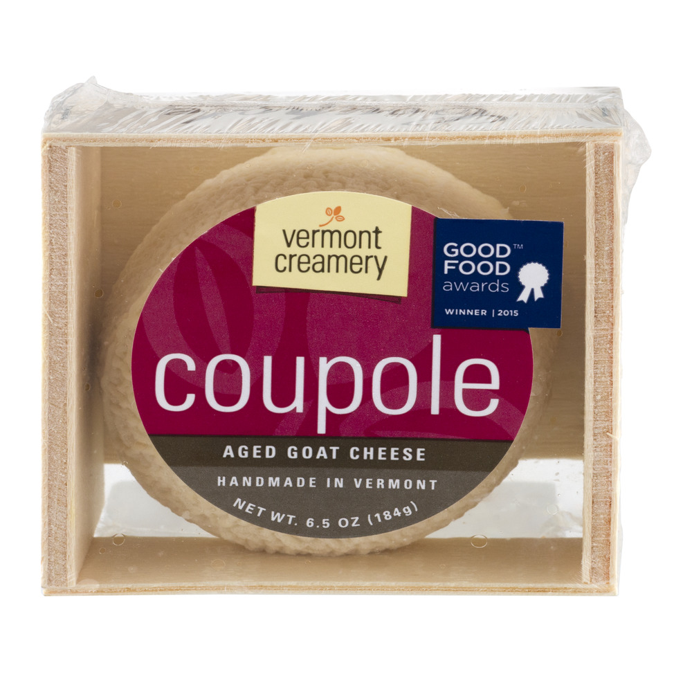 Vermont Creamery Coupole Aged Goat Cheese, 6.5 OZ by Vermont Creamery