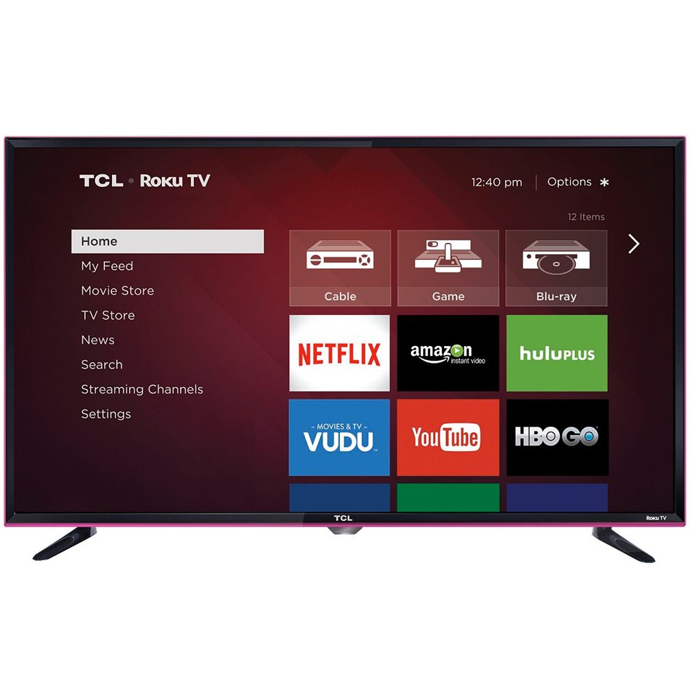 "TCL 32S3850 32"" 720p 60Hz HDTV with Roku"