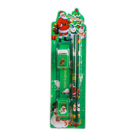 Christmas Children Gift Student Kids Stationery Suit Pen House Learning Supplies - Christmas Pens