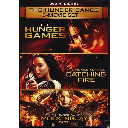 The Hunger Games 3-Movie Set: The Hunger Games / The Hunger Games: Catching Fire / The Hunger Games: Mockingjay Part 1 (DVD + Digital Copy))