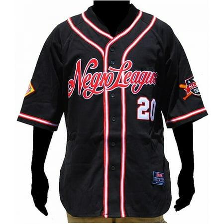 Big Boy NLBM Replica Mens Baseball Jersey [Black - - Black Lab Baseball Jersey