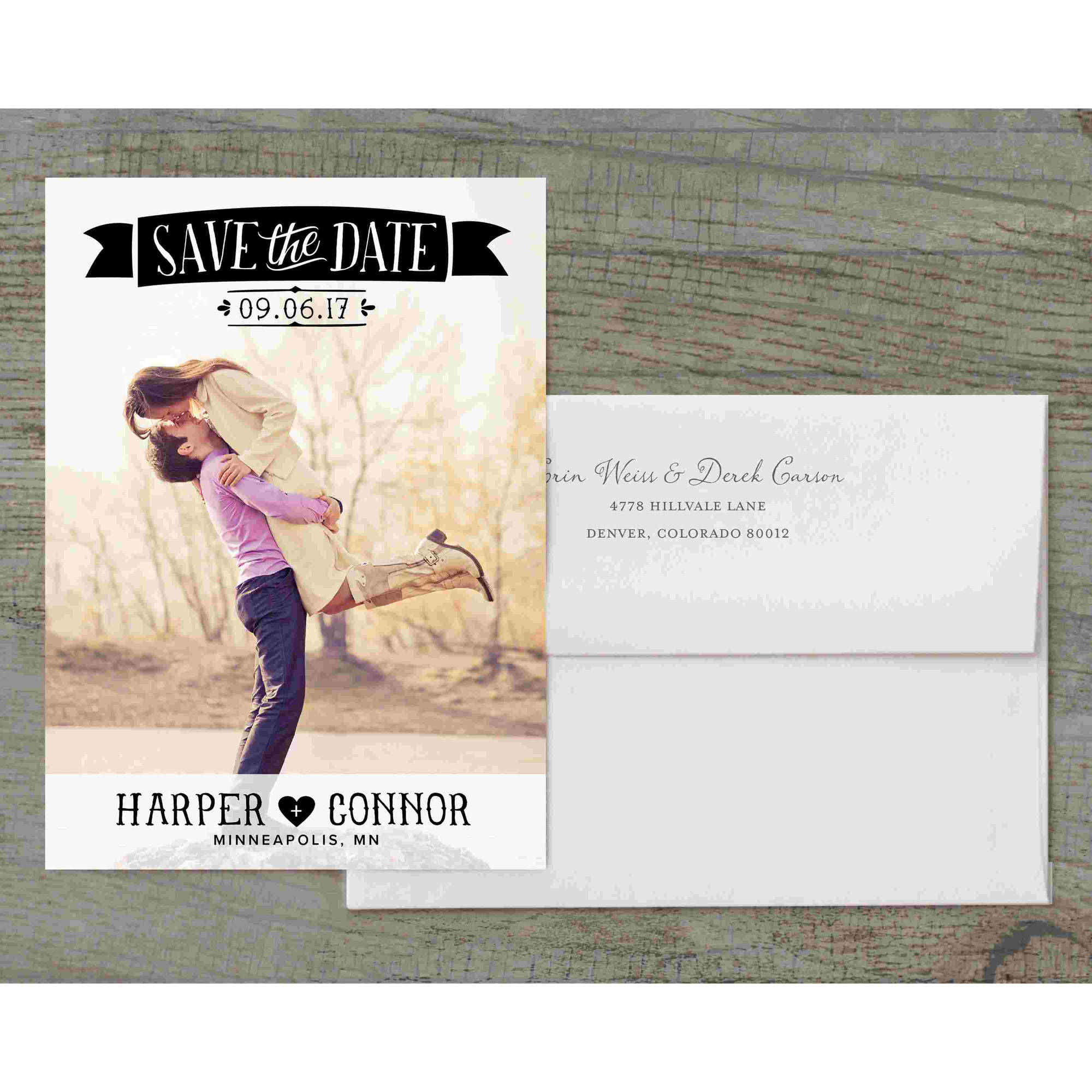 Picture Perfect Deluxe Save the Date