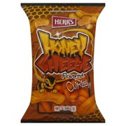 Herr's Honey Cheese Flavored Curls, 9.5 Oz.