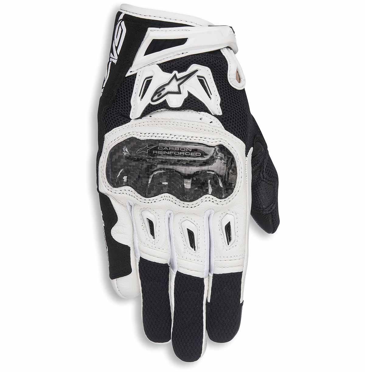 XS Motorcycle gloves Alpinestars Stella Smx-2 Air Carbon V2 Glove Black Black