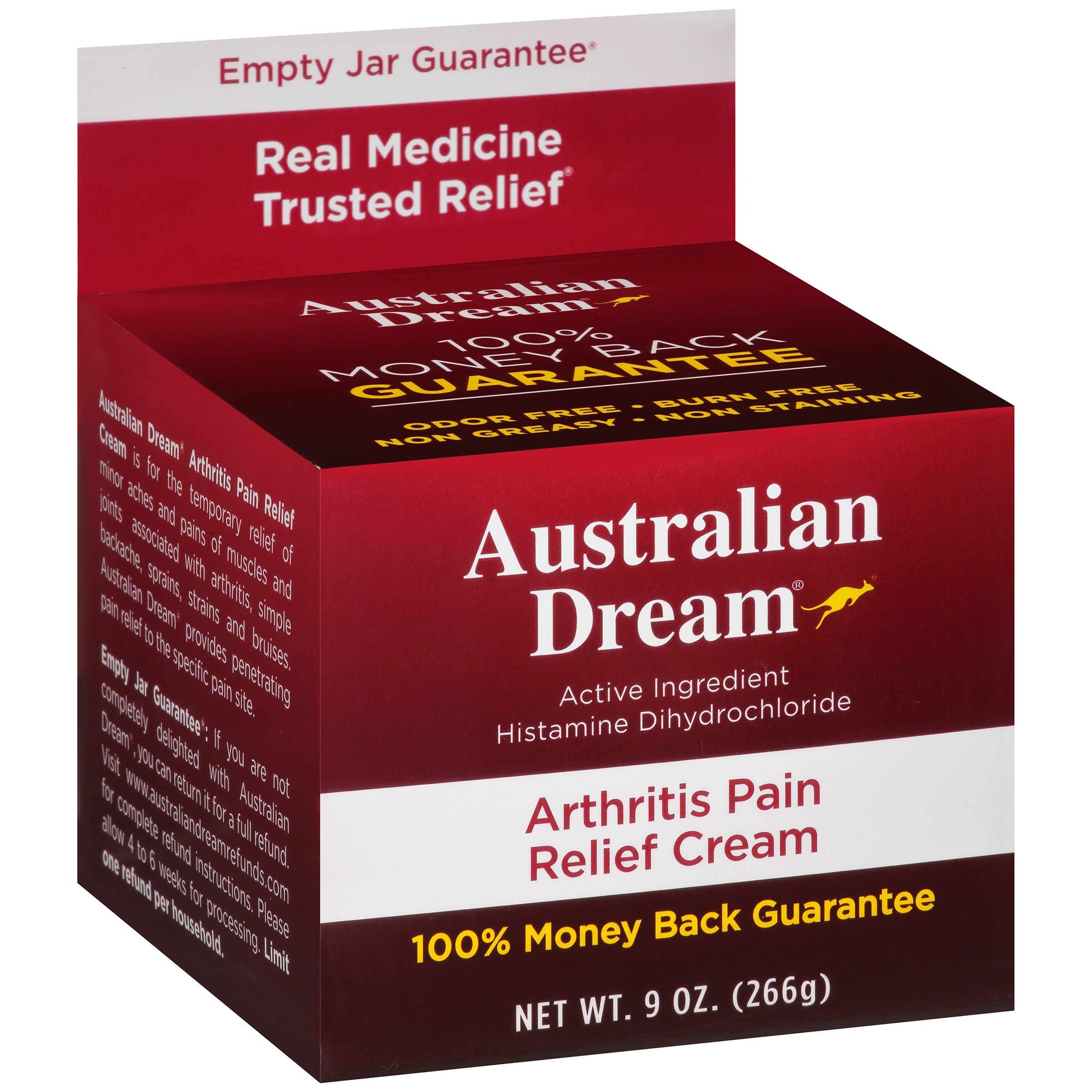 Australian Dream Arthritis Pain Relief Cream, 9 oz