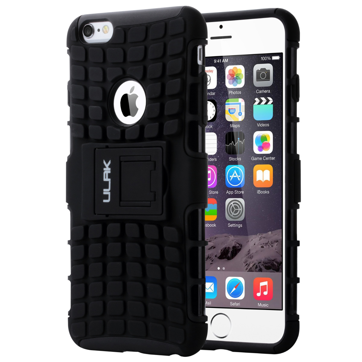 ULAK iPhone 6 plus Case Shock Absorbing Case Hybrid 2in1 Cover PC and TPU Layers for Apple iPhone 6 Plus (5.5 inch-2014)
