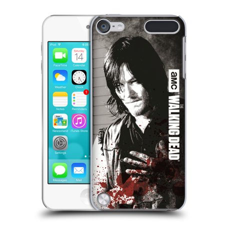 OFFICIAL AMC THE WALKING DEAD GORE HARD BACK CASE FOR APPLE IPOD TOUCH MP3](Blood Gore)