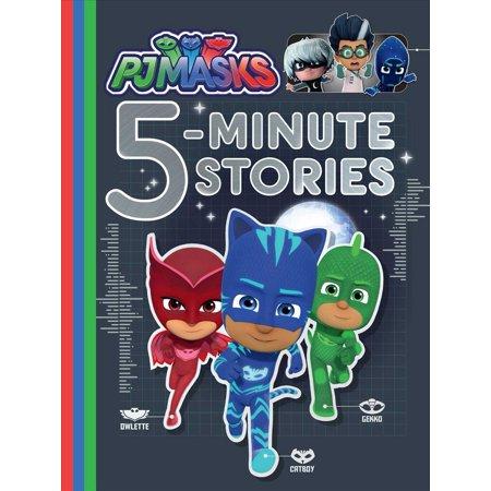 PJ Masks 5-Minute Stories (5 Week Old Sleeping Through The Night)