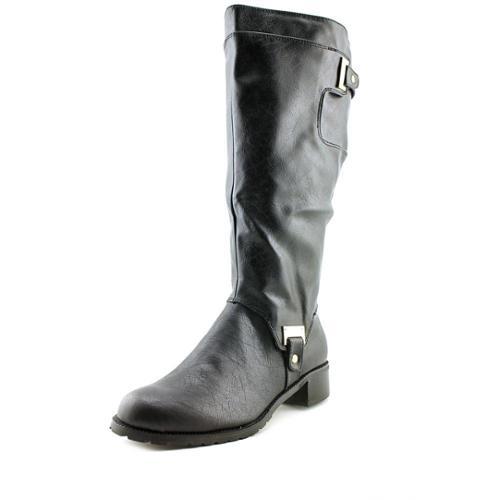 Bella Vita Anya II Plus Wide Calf Women Round Toe Synthetic Black Knee High Boot by Bella Vita