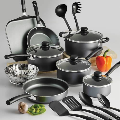 Tramontina PrimaWare 18-Piece Nonstick Cookware Set by Tramontina USA, Inc.