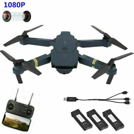 Drone X Pro Foldable Quadcopter 2.4G WIFI FPV With 1080P HD Camera RC Quadcopter Christams Gift Toy Black
