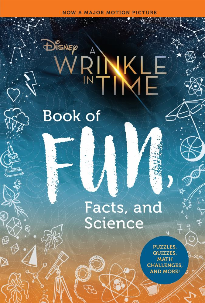 A Wrinkle in Time Book of Fun, Facts, and Science - Walmart.com