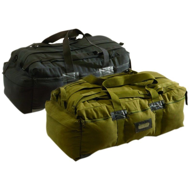 Texsport Canvas Tactical Bag, Black by Texsport