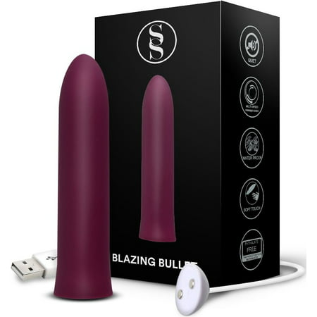 Blazing Bullet Pocket Rocket Rechargeable Waterproof Personal (Best Wireless Bullet Vibrator)