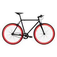 Golden Cycles Viper Black/Red Fixed Gear 52 cm