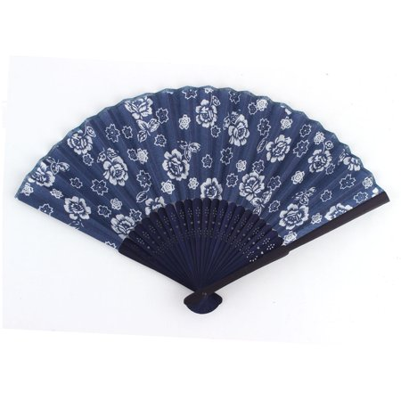 Performance Party Dancing Peony Pattern Exquisite Vintage Decorative Folding Fan