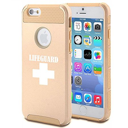 Apple iPhone 6 6s Shockproof Impact Hard Case Cover Lifeguard (Gold),MIP