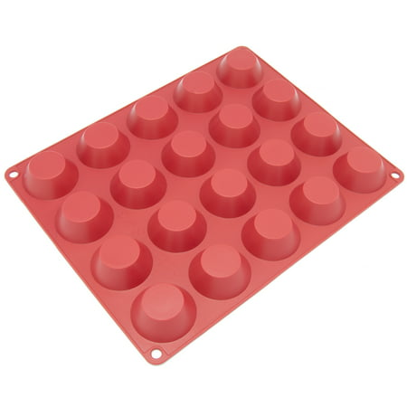 Freshware 20-Cavity Tart Silicone Mold for Quiche, Pastry, Cake, Pie, Pudding and Jello, - Jello Molds For Halloween