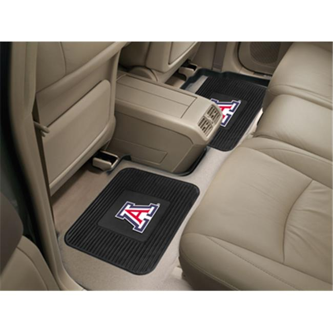 COL - 14 in. x17 in.  - University of Arizona  Backseat Utility Mats 2 Pack